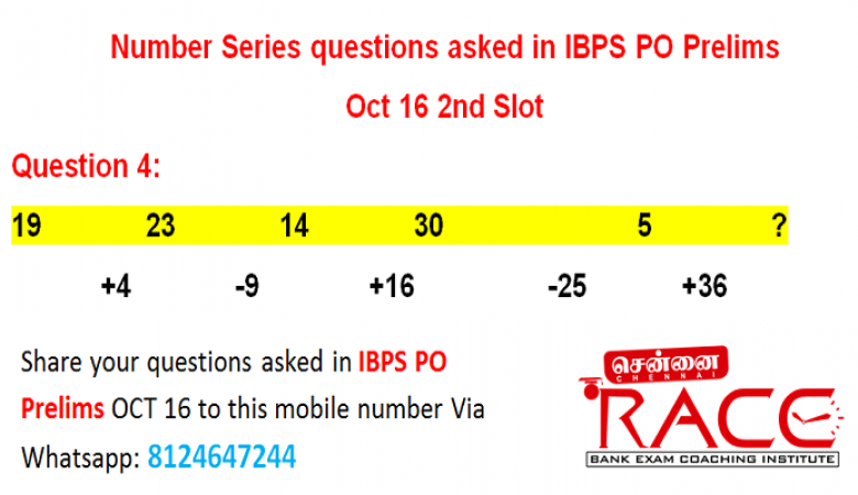 Important Quetions asked in IBPS PO 2016 – Chennai RACE Coaching Institute (20)