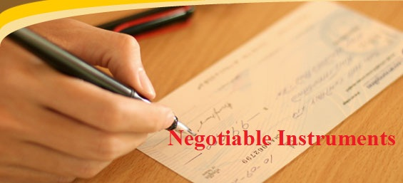 law of banking and negotiable instruments notes