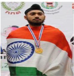 Jalandhar's Gurindervir wins gold medal in 1000 meter relay