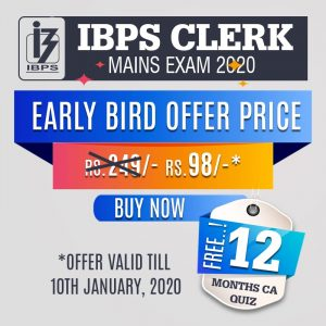IBPS CLERK Mains Exam 2019 - Online Test Series | bankersdaily